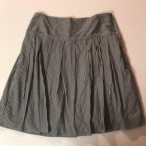 Banana Republic striped skirt